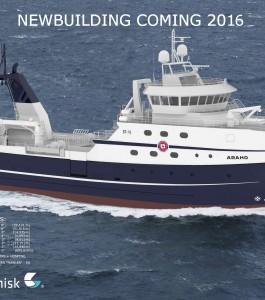 Araho, O'Hara's new vessel