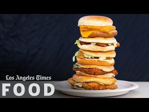 Popeyes Cajun Flounder Sandwich-LA Times